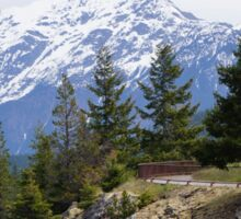 North Cascade Mountain Range, Washington State, USA Sticker