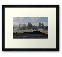 Twilight in Forks, Washington State, USA Framed Print