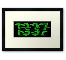 1337 Framed Print