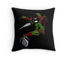 Shadow Raph Throw Pillow