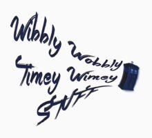 Timey Wimey Stuff One Piece - Short Sleeve