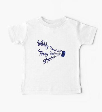 Timey Wimey Stuff Baby Tee