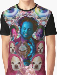 giorgio tsoukalos and his worm doggos Graphic T-Shirt