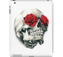 Rose Eye Skull iPad Case/Skin