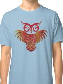 Owl with Wings Unfurled Classic T-Shirt