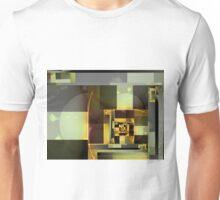 City Abstract - Orange Green Unisex T-Shirt