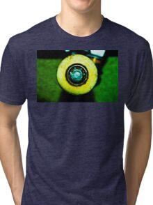 Skateboard Wheel Tri-blend T-Shirt