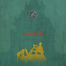 Ghibli Minimalist 'The Castle of Cagliostro' (Lupin III) by doodlewhale
