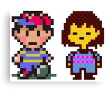 Ness and Frisk Canvas Print