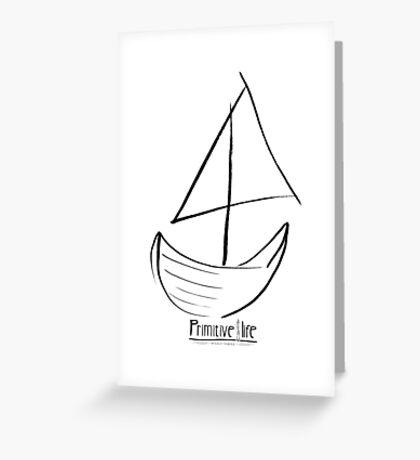 Sailboat Sail Greeting Card