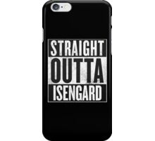 Straight Outta Isengard iPhone Case/Skin
