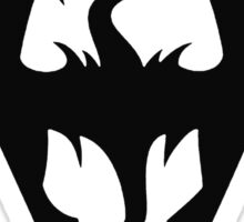 Skyrim Logo Black Sticker