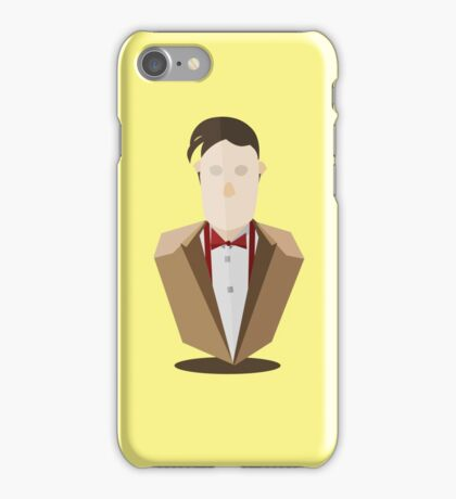 Eleventh Doctor - Yellow iPhone Case/Skin