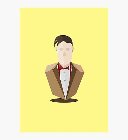 Eleventh Doctor - Yellow Photographic Print