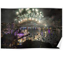 Sydney NYE Fireworks 2015 # 16 Poster