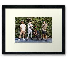 Goth Money Group Photo Framed Print