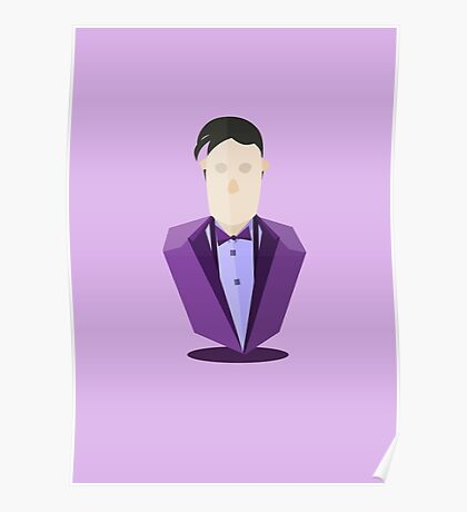 Eleventh Doctor - Purple Poster