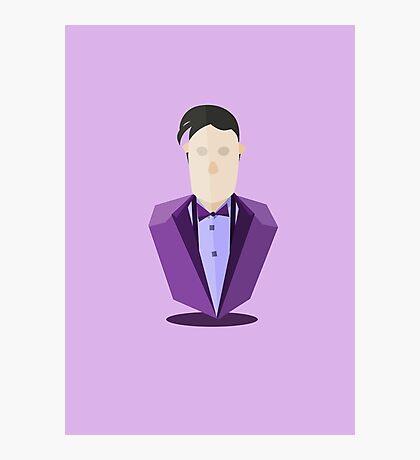 Eleventh Doctor - Purple Photographic Print