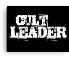 Cult Leader Canvas Print