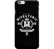 Miskatonic University Crest iPhone Case/Skin