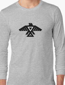 American Indian Thunderbird Totem Long Sleeve T-Shirt