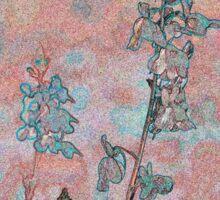 Topaz Coral Meadow Sticker