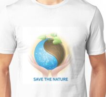 Save the Nature Theme Unisex T-Shirt