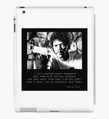 Samuel L Jackson Vengence iPad Case/Skin