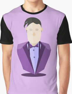 Eleventh Doctor - Purple Graphic T-Shirt
