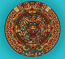 Where's Waldo? - Mayan Calendar by Jessica Bone