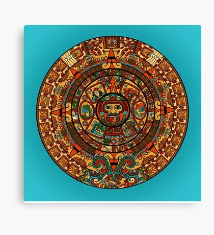 Where's Waldo? - Mayan Calendar Canvas Print