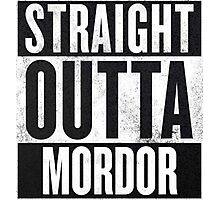 Straight Outta Mordor Photographic Print