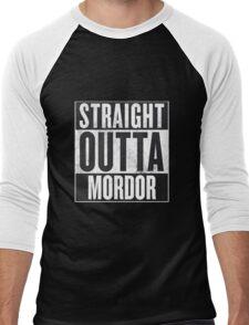 Straight Outta Mordor Men's Baseball ¾ T-Shirt