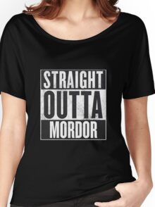 Straight Outta Mordor Women's Relaxed Fit T-Shirt