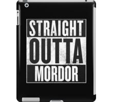 Straight Outta Mordor iPad Case/Skin