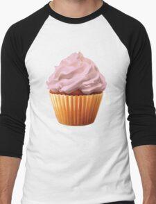Cupcake Men's Baseball ¾ T-Shirt