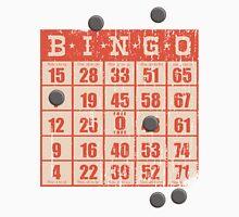 Hipster kitsch vintage bingo card game card Unisex T-Shirt