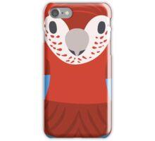 Macaw Nesting Doll iPhone Case/Skin