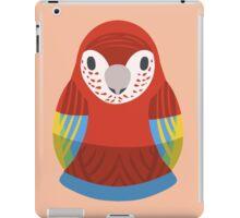 Macaw Nesting Doll iPad Case/Skin