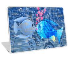 Fish In Love Laptop Skin