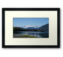 Mount Shuksan, Washington State, USA Framed Print