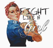 Fight like a Girl, Rosie Riveter Kids Tee