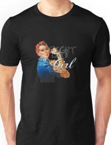 Fight like a Girl, Rosie Riveter Unisex T-Shirt