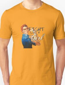 Fight like a Girl, Rosie Riveter T-Shirt