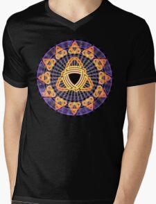 Triskelis Mens V-Neck T-Shirt