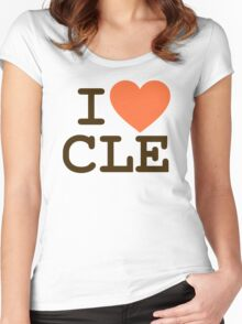 I HEART CLE - CLEVELAND Women's Fitted Scoop T-Shirt