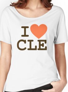 I HEART CLE - CLEVELAND Women's Relaxed Fit T-Shirt