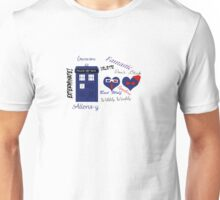 Doctor Who Words  Unisex T-Shirt