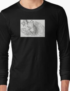 Into the Sea Long Sleeve T-Shirt