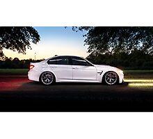 F80 BMW M3 Photographic Print